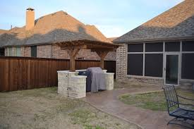 Screened In Pergola by Screened In Porch In The Colony Texas Custom Patios
