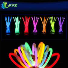 neon party supplies aliexpress buy 100pcs 8 multi color glow light stick