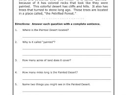 free printable second grade reading comprehension worksheets