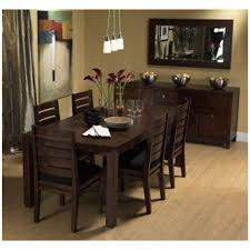 Wood Furniture Manufacturers In India Induscraft 7 Pc Contemporary Sheesham Wood Dining Table Set