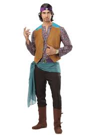 gypsy fortune teller halloween costume men u0027s fortune teller gypsy costume