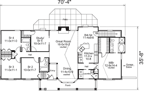 country style ranch house plans 5 bedroom 3 bath country house plan alp 09he allplans