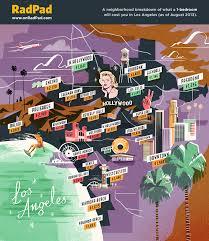 los angeles suburbs map a neighborhood by neighborhood breakdown of rent prices in los