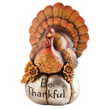 Outdoor Thanksgiving Decorations by Amazon Com Decorative Be Thankful Turkey Thanksgiving Decor