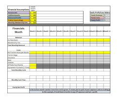 Cash Flow Spreadsheet Excel 35 Profit And Loss Statement Templates U0026 Forms
