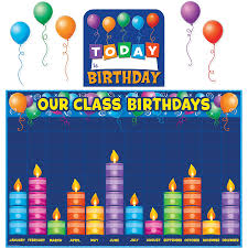 birthday boards birthday graph bulletin board display set tcr5335