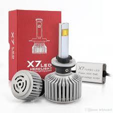 Led Head Light Bulbs by 2017 H4 6000k X7 Led Headlight Bulbs All In One Conversion Kit Car