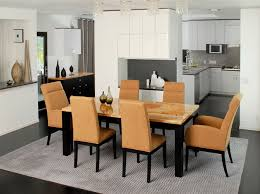 Modern Dining Room Decorating Ideas With Modern Living Room Dining - Interior design for dining room ideas