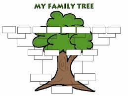 free family tree template 1 funnycrafts