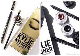new kylie cosmetics kylie kyliner in brown and black kyliner
