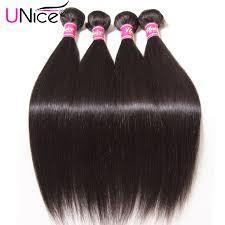 top hair companies ali express unice hair 7a peruvian virgin hair straight unprocessed peruvian