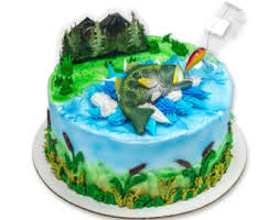 fish cake toppers fishing cake topper etsy