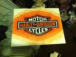 harley davidson canvas painting to make pinterest harley