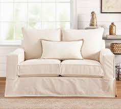 Pb Comfort Sofa Enchanting Slip Covered Sofa With Pb Comfort Square Arm