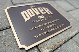 customized plaques with photo aluminum plaques order a cast aluminum plaque online