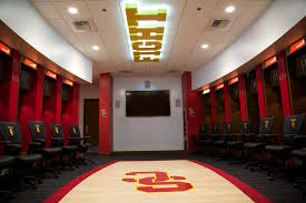 university of southern california u2013 galen arena locker rooms and