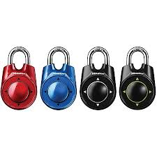 master lock rollerball combination padlock assorted colors no