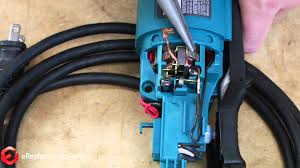 how to replace the brushes on a makita grinder a quick fix youtube