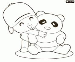 pocoyo coloring pages printable games