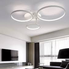 Bedroom Led Ceiling Lights New Arrival Circle Rings Designer Modern Led Ceiling Lights L