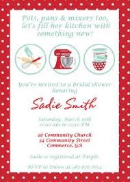 housewife retro bridal shower invitation by littlebirdieprints
