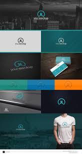 free logo presentation template for quick logo mock up creation