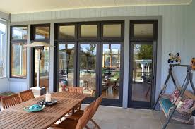 French Outswing Patio Doors by Marvin Bronze Clad Windows And Doors Project Photos Ot Glass