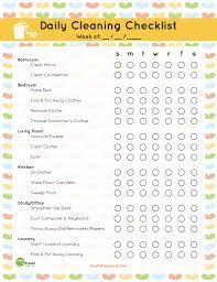 clean bedroom checklist the best free printable cleaning checklists sarah titus