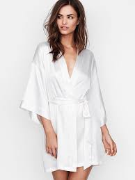 robe de chambre satin satin kimono s secret