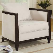 sitting chairs for living room chair white ivory accent chairs seating for sale coaster