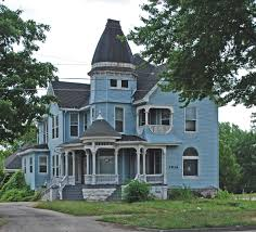 michigan blue house blue houses pinterest house and queen anne