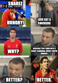 Suarez Memes - suarez snickers snickers hungry commercials know your meme
