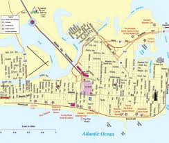 New Jersey Map Atlantic City Nj Map Ac Gambling Casinos Ac Casinos Map A Ac