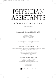 physician assistant policy u0026 practice 3e