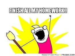 X All The Things Meme Generator - finish all my homework 100 ways to get to sleep pinterest