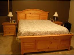 Pine Bed Set Solid Pine Bedroom Set Solid Pine Rustic Style Bedroom Furniture