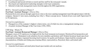 Fast Food Job Description For by Fast Food Cook Job Description For Resume Fast Food Cook Resume