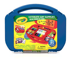 crayola ultimate art case with easel 1 25 fl oz 36 ml
