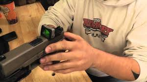 trijicon rmr and custom milling on glock youtube