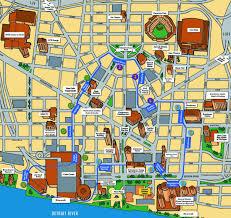 Washington Dc Parking Map by Transportation U0026 Parking Motor City Madness