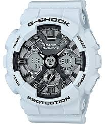 light blue g shock watch g shock gmas120 mf light blue silver watch zumiez