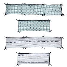 Crib Bedding Set With Bumper Bacati Noah Tribal Mint Navy 10 Pc Crib Set Including Bumper Pad