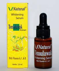 Serum Temulawak whitening skin serum temulawak extract curcuma xanthorrhiza