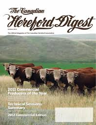 k che 24 herford the canadian hereford digest october 2014 by canadian hereford