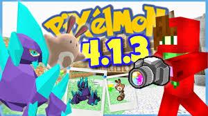 minecraft pixelmon 4 1 2 4 1 3 update showcase cameras