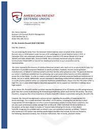 Complaints Letter To Hospital apdu alert letter to boston scientific corporation patient gretchen