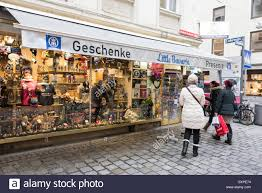 one of the many gift souvenir shops in and around munich shopping