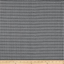premier prints houndstooth black white discount designer fabric