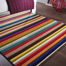 Bright Purple Rug Go Bold And Bright With This Spectrum Tango Multicoloured Rug