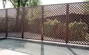 wood lattice wall 50 lattice fence design ideas pictures of popular types
